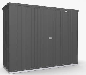 Biohort Skriňa na náradie Biohort vel. 230 227 x 83 (tmavo sivá metalíza) 230 cm (2 krabice)