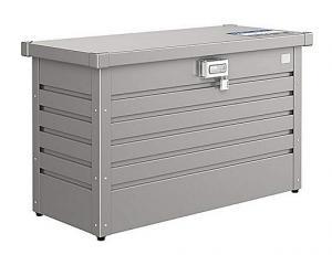 Biohort Úložný zamykací box (sivý kremeň metalíza) 100 cm