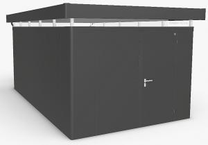 Biohort Záhradný domček BIOHORT CasaNova 330 x 530 (tmavo sivá metalíza) orientace dverí vpravo