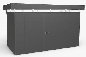 Biohort Záhradný domček BIOHORT CasaNova 430 x 230 (tmavo sivá metalíza) orientace dverí vľavo