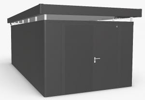 Biohort Záhradný domček BIOHORT CasaNova DUO 330 x 630 (tmavo sivá metalíza) orientace dverí vľavo