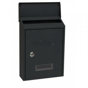 BK.33 poštová schránka čierna, Čierna