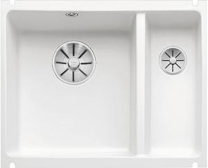 BLANCO SUBLINE 350/150-U keramika krištáľovo biela