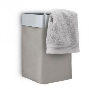 Blomus Nástenný kôš na uteráky NEXIO matný taupe