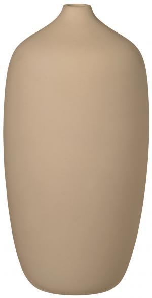 Blomus Váza béžová 13 cm vysoká CEOLA