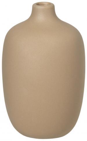 Blomus Váza béžová 8 cm nízká CEOLA