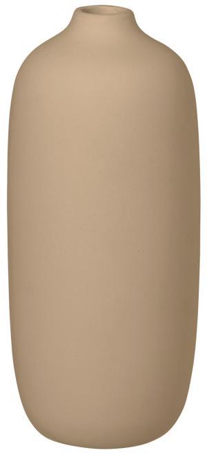 Blomus Váza béžová 8 cm vysoká CEOLA