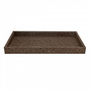 Bloomingville Úložný box s plexi vekom Dark Cork - väčší