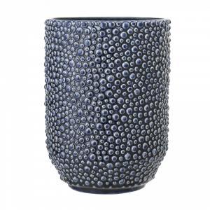 Bloomingville Váza Blue Ceramic