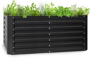 Blumfeldt High Grow Straight, vyvýšený záhon, 120 x 60 x 60 cm, 432 l, oceľ
