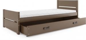 BMS Detská posteľ BARTEK Farba: Čokoládová