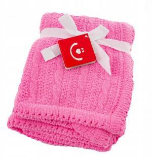 BOBO BABY - Detská deka do kočíka, 75x92cm - ružová