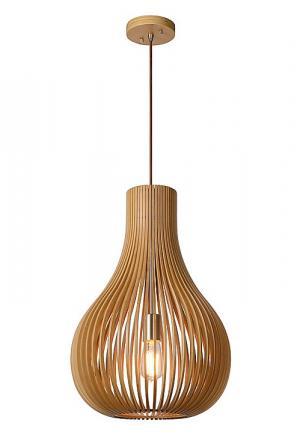 BODO - Pendant light - Ø 38 cm - Light wood