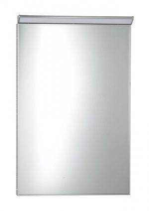 Bora AL757 zrkadlo v ráme s LED osvetlením a vypínačom 50x70 cm