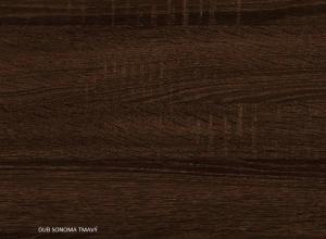 Botník 4K / WIP Farba: DUb sonoma tmavá