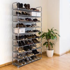 Botník pre 50 párov topánok, RD9127 šedý