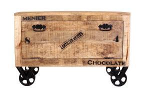 Botník RUSTIC – 85 × 40 × 56 cm