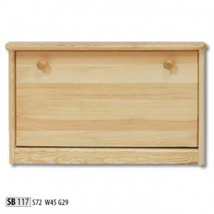 Botník z masívneho dreva SB 117