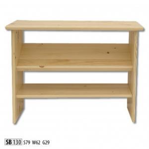 Botník z masívneho dreva SB 130