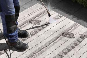 Bougari - Hanse Home koberce Kusový koberec Twin Supreme 103755 Black/Cream - 200x290 cm