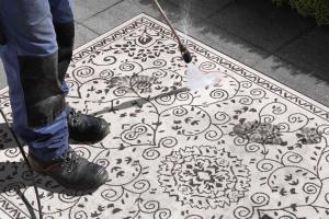 Bougari - Hanse Home koberce Kusový koberec Twin Supreme 103864 Black/Cream - 200x290 cm