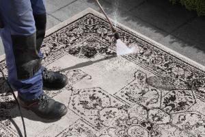 Bougari - Hanse Home koberce Kusový koberec Twin Supreme 104137 Black/Cream - 200x290 cm