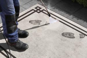 Bougari - Hanse Home koberce Kusový koberec Twin Supreme 104145 Black/Cream - 160x230 cm