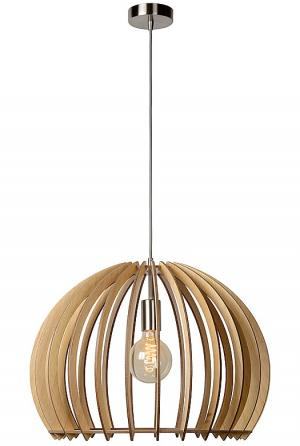 BOUNDE - Pendant light - Ø 50 cm - Wood