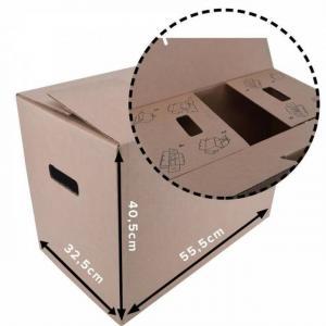 Box/krabica úložná 55x32x40cm kartónová