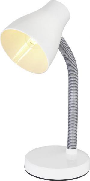 Boxxx LAMPA NA PÍSACÍ STÔL, 22/41 cm - biela