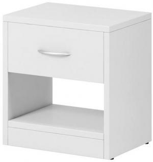 Boxxx NOČNÝ STOLÍK, biela, 39/41.5/28 cm - biela
