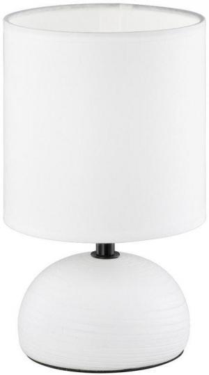 Boxxx STOLOVÁ LAMPA, E14, 14/23 cm - biela