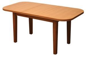 Bradop Jedálenský stôl rozkladací ŠTEFAN oválny S021