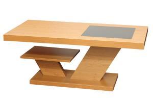 Bradop Konferenčný stolík ALEŠ, obdĺžnik, podstavec K113