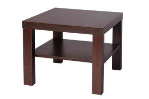 Bradop Konferenčný stolík lubka, štvorcový, police K116