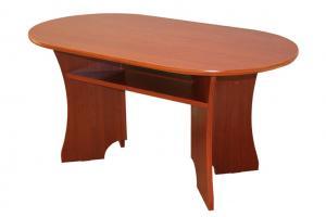 Bradop Konferenčný stolík MARTIN - oválny K01