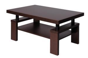 Bradop Konferenčný stolík RICHARD, obdĺžnik, police K121