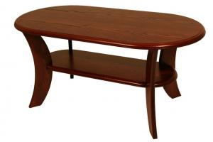 Bradop Konferenčný stolík ROMAN, oválny, MDF K52
