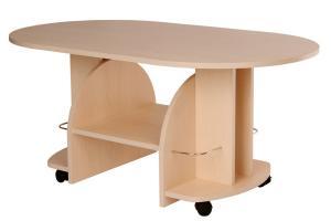Bradop Konferenčný stolík VÍT, oválny K12