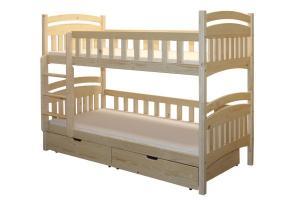 Poschodová posteľ HONZÍK (základné prevedenie) B402-80x180