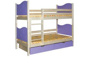 Poschodová posteľ MARIO (základné prevedenie) B410-80x180