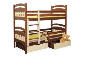 Poschodová posteľ Matýsek (základné prevedenie) B404-80x180