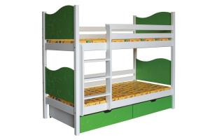 Poschodová posteľ NICOLAS B412-90x200