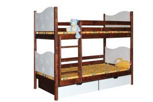 Poschodová posteľ TIBOR (základné prevedenie) B411-80x180