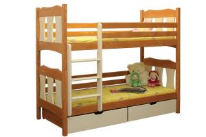 Poschodová posteľ Vojtíšek (základné prevedenie) B407-80x180