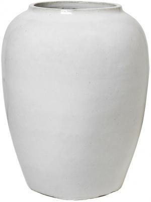 Broste Copenhagen Váza na zem Broste Ray Ø 50 cm | světle šedá
