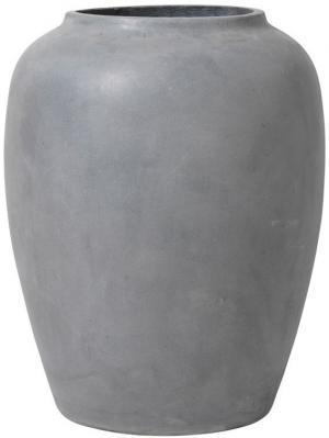 Broste Copenhagen Váza na zem Broste Ray 60 cm | šedá