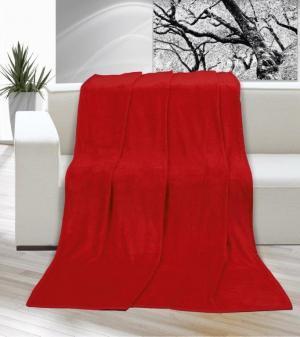 Brotex Deka micro jednolôžko 150x200cm červená