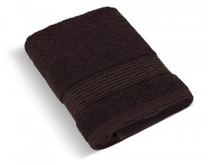 Brotex Froté uterák 50x100 cm - Pásik tmavo hnedá