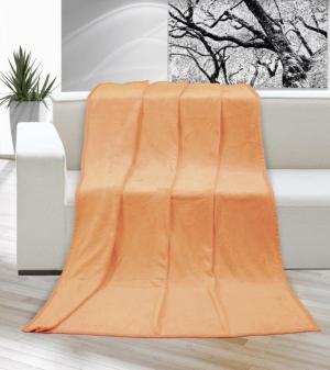 Brotex Mikro deka na jednolôžko 150x200 cm Lososová farba